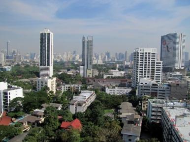 Bangkok from my hotel balcony