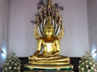 Golden Buddha at Wat Po Temple
