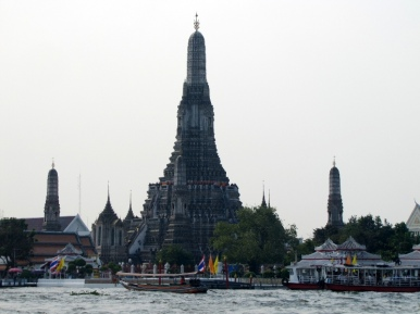Wat Arun from the canal