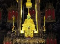 Emerald Buddha at Wat Prah Kaew Temple