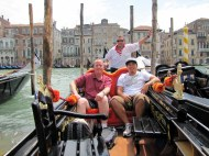 When if Venice, one must take a gondola ride