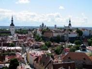 View of Tallinn from St. Olav's Church Steeple