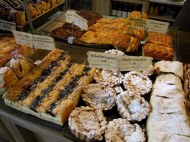 Bakery in Riga...Yum!