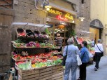 Street market in Florence