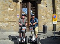 Segway Warriors in Florence