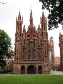Church of St. Anne, Vilnius