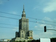 "Stalinist ""gift"" to Warsaw, Poland (very out of place in the city)"