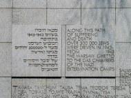 Holocaust Memorial, Warsaw
