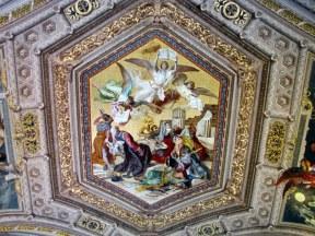Ceiling of Vatican Museum