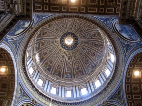 Dome of St. Peters Basilica, Vatican City