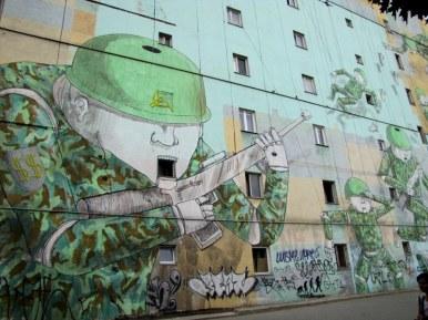 Anti-Soviet Occupation Mural, Warwaw