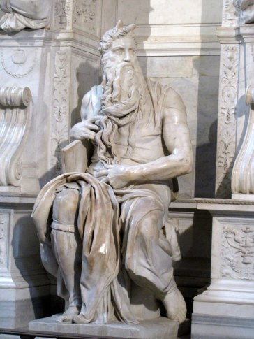 Michelangelo's Moses, Church of San Pietro in Vincoli, Rome