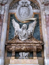 Crazy decorations at the Church of San Pietro in Vincoli, Rome
