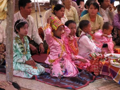 Buddhist Initiation Ceremony