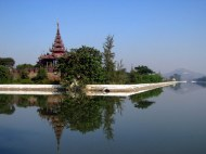 Mandalay Palace and moat
