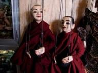 Monk marionettes