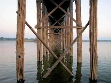 U Bein teak bridge