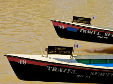 Our transportation for 2 1/2 days at Inle Lake