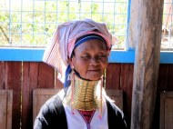 Long Neck Woman of the Paduang hill tribe.