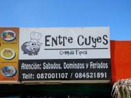 Cuy (Guinea Pig) restaurant