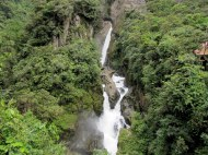 El Pailon del Diablo (The Devil's Cauldron) waterfall