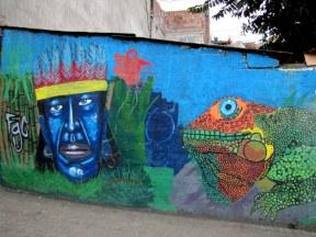 Mural in Baños