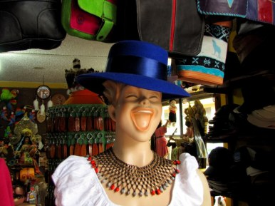 Couldn't resist photographing this crazy mannequin