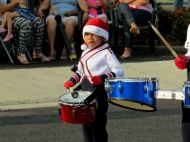 Little Drummer Boy - At a Christmas festival in a small town we drove through