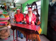Santa in La Fortuna