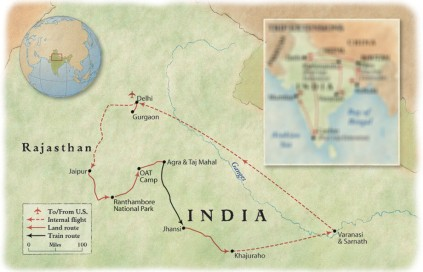 Trip Itinerary - Heart of India
