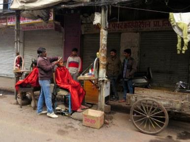 Street Barbershop, Delhi