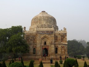 Shish Gumbad (Unknown tomb 15th Century) at Lodhi Gardens, New Delhi