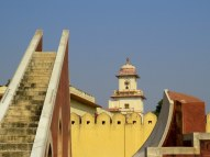 Jantar Mantar astronomical and astrological observatory in Jaipur. Built in the 18th century.