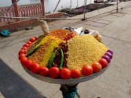 Colorful street food, Jaipur