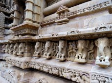 Temples at Khajuraho.
