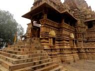 Khajuraho temples.