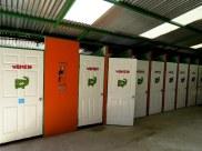 Lots of bathroom doors, Costa Rica