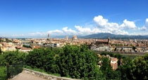 Panorama of Florence. iPhoneography