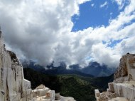 Carrara marble quaries