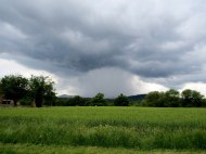 Rain is approaching