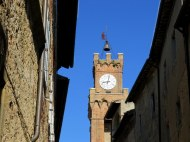 Town hall of Pienza