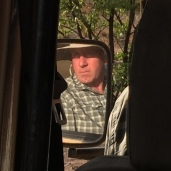 Dave has his game drive face on