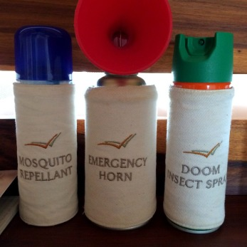 Amenities Kit at the lodges