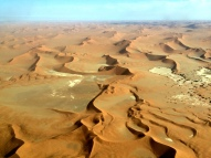 The dunes from the air