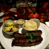 Christmas Dinner - Beer and Brats in Swakopmund
