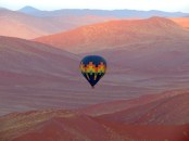 Balloon ride at Sossusvlei