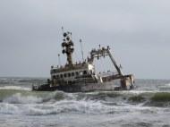 Shipwreck of the Zeila near Swakopmund