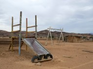 Small village near the lodge in Damaraland