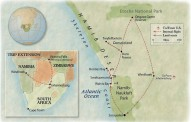 Trip Map - Namibia & the Skeleton Coast: Africa's Last Wilderness