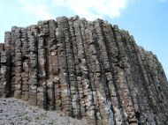 Giant's Causeway, an area of about 40,000 interlocking basalt columns